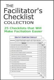 faciltator checklists